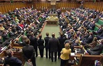 مجلس العموم البريطاني يصوت على مقترح الاعتراف بدولة فلسطين