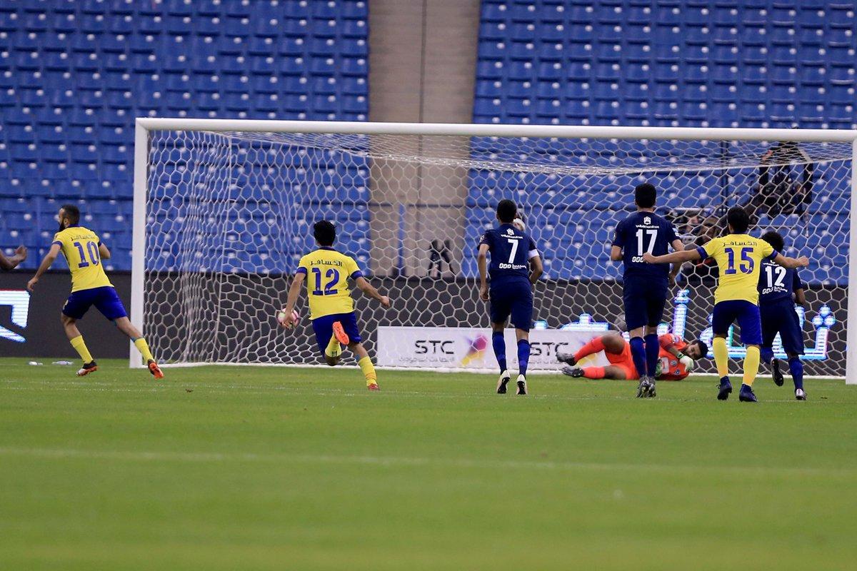 النصر يُطيح بـالهلال ويبلغ نهائي كأس ولي العهد السعودي