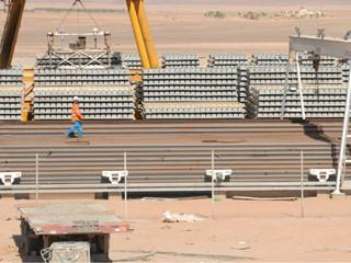 نمو مشاريع البنية التحتية في الدولة بنسبة 500 %