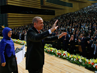 أردوغان يعلن عن ترشحه للرئاسة التركية