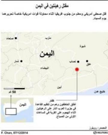 13 قتيلا حصيلة المحاولة الأمريكية الفاشلة لإنقاذ رهائن باليمن