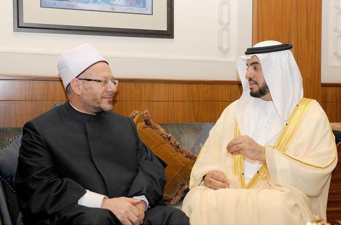 مفتي مصر يشيد بوقوف الإمارات إلى جانب بلده
