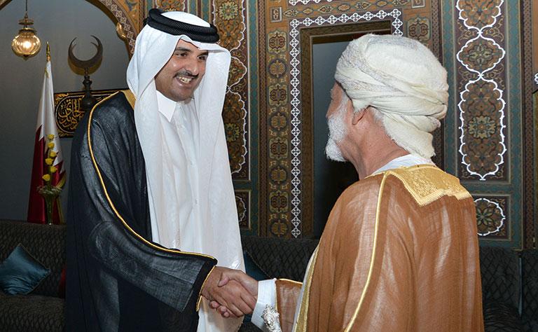مباحثات قطرية عمانية لتعزيز العلاقات