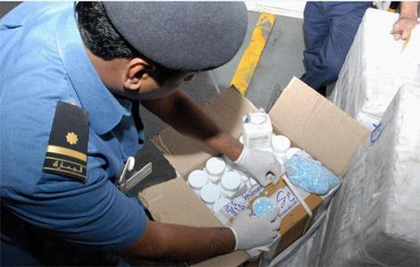 احباط أكبر شحنة كوكايين تقدر بـ 200 مليون درهم لترويجها داخل البلاد