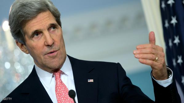 كيري: قد نتبادل المعلومات مع طهران حول العراق ولن نعمل معها