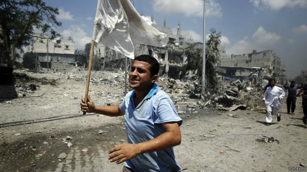 بدء سريان الهدنة في غزة وانسحاب للقوات الإسرائيلية البرية
