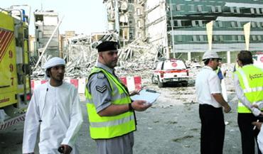 بلدية أبوظبي تؤكد سلامة بناية الخبيرة