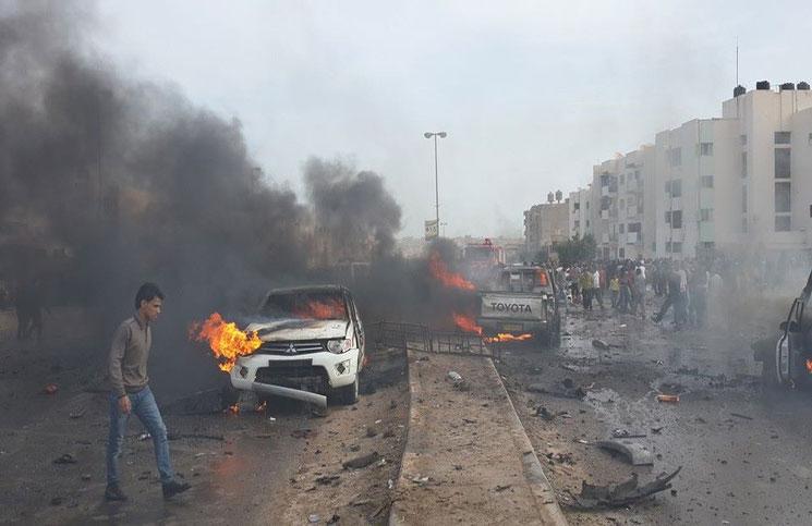 انفجار سيارتين مفخختين في العاصمة الليبية ولا ضحايا