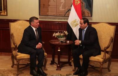 بعد لقائه الملك سلمان.. عاهل الأردن يلتقي السيسي بالقاهرة