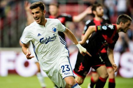 بافلوفيتش يسجل 3 أهداف سريعة ليقود كوبنهاجن للفوز بتصفيات أبطال أوروبا