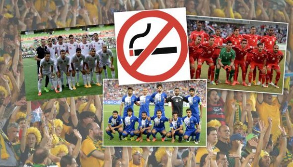 الاتحاد الآسيوي يفرض غرامات مالية على منتخبات عربية بعضها بسبب التدخين