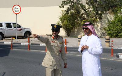 زيادة تعاون الجمهور مع شرطة دبي بنسبة 123%