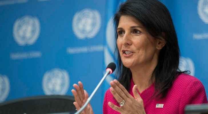 سفيرة أمريكا بالأمم المتحدة: إزاحة الأسد أولوية