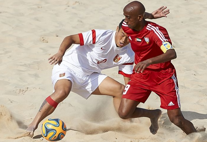 أبيض الشواطئ يحقق المركز الخامس في بطولة آسيا