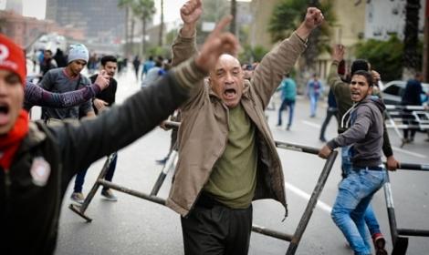 أحداث الذكرى الرابعة لثورة يناير في الصحافة والمواقع العالمية