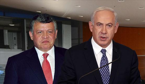 هل التقى العاهل الأردني ورئيس الوزاء الإسرائيلي سرا؟
