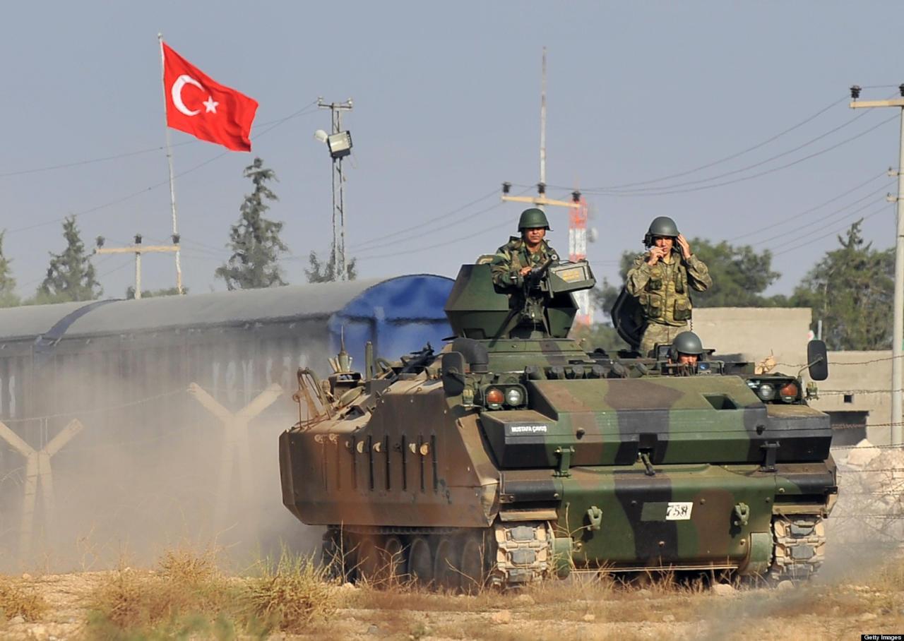 قوات تركية تصد هجوما لداعش