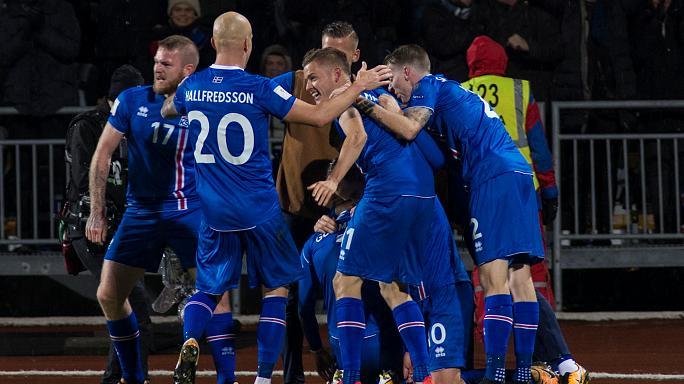 أيسلندا أصغر دولة تبلغ نهائيات كأس العالم