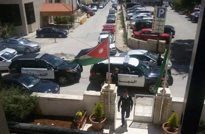 الأمن الأردني يقتحم المقر الرئيس للحزب التابع للإخوان المسلمين
