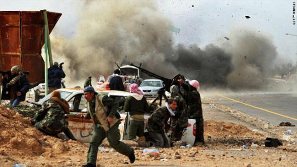 30 قتيلا من قوات تابعة لحكومة الوفاق في تفجير قرب سرت الليبية