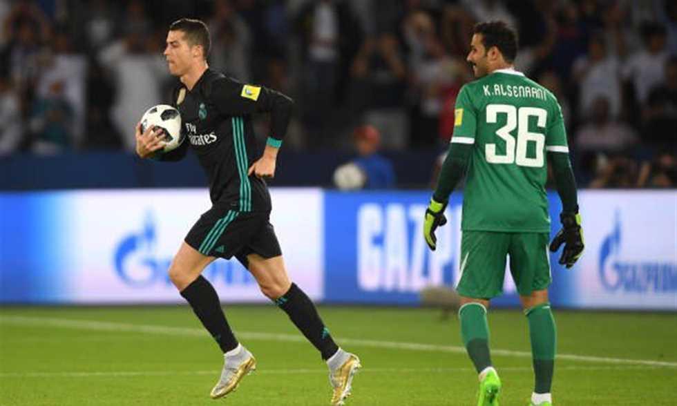 الجزيرة يقدم أداء بطوليا أمام ريال مدريد ويخسر بفارق هدف واحد