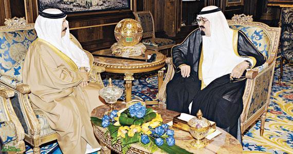 السعودية والبحرين تبحثان مسيرة العمل الخليجي المشترك