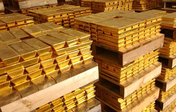ارتفاع الذهب وتراجع الأسهم بسبب الأزمة الأوكرانية
