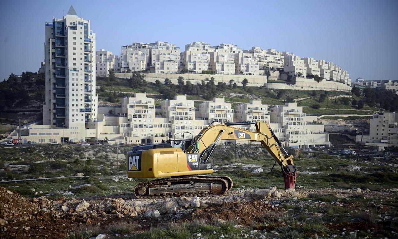 إقرار بناء 566 وحدة استيطانية في القدس بعد ساعات من تولي ترامب