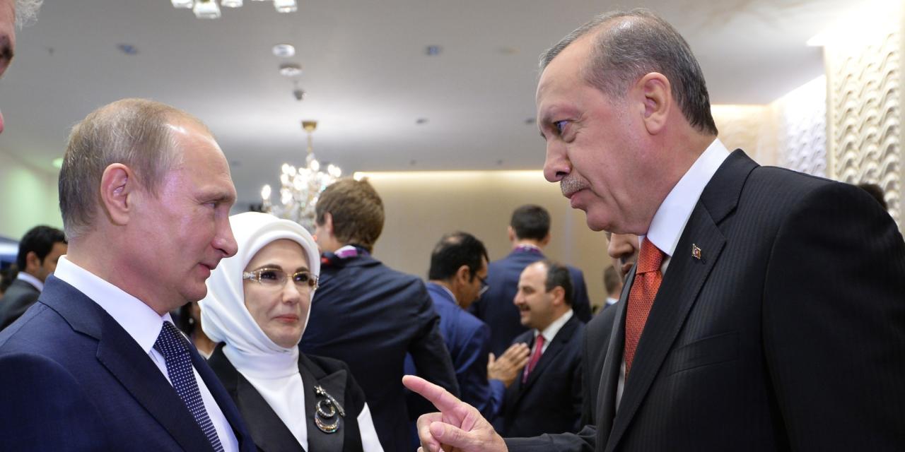 أردوغان يهنئ بوتين باليوم الوطني: أتمنى أن ترتقي علاقاتنا