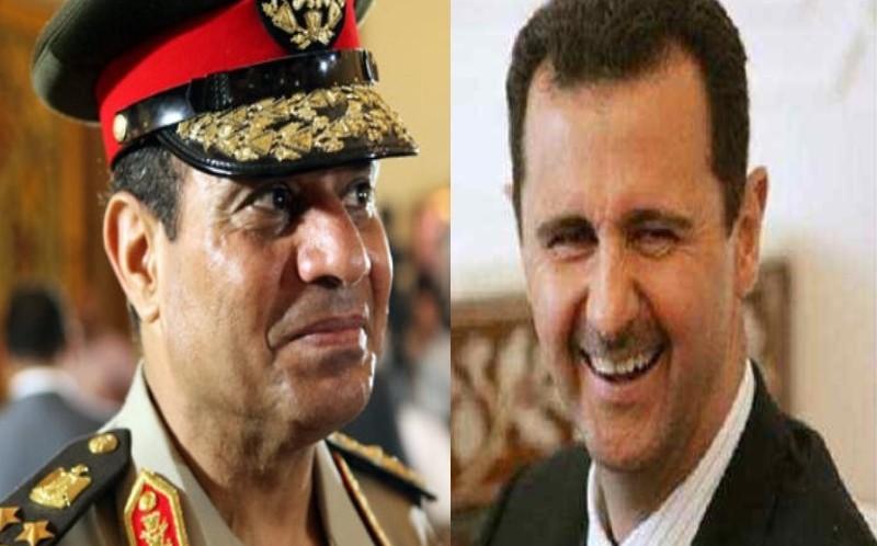 بشار الأسد يشيد بدور السيسي في الانتصار في حلب
