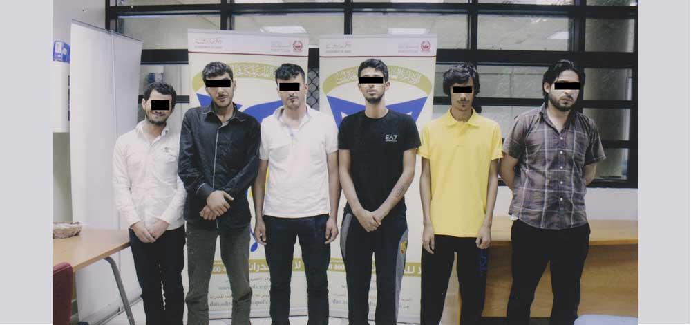 تفكيك عصابة عربية لتهريب المخدرات في دبي