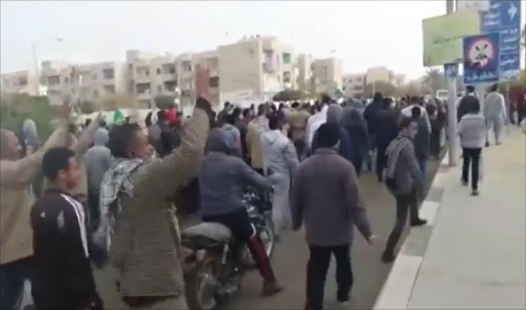 ارتفاع قتلى مظاهرات ذكرى ثورة يناير بمصر إلى 11 قتيلا