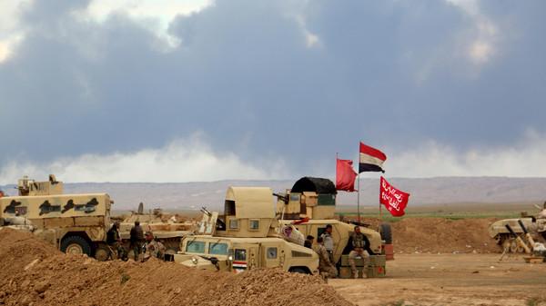 القوات العراقية تعلن طرد داعش من بلدة البغدادي