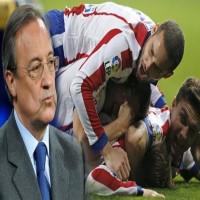 رئيس نادي ريال مدريد يصف أداء اللاعبين بالمُثير للسخرية