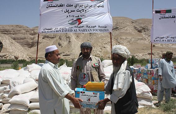 مؤسسة خليفة تواصل توزيع المساعدات الإغاثية شمال أفغانستان