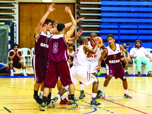 منتخب الشباب لكرة السلة يهزم نظيره القطري