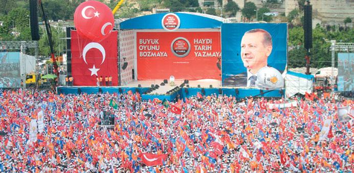 تركيا: نظام الحكم في البلاد سيتحول إلى نظام شبه رئاسي