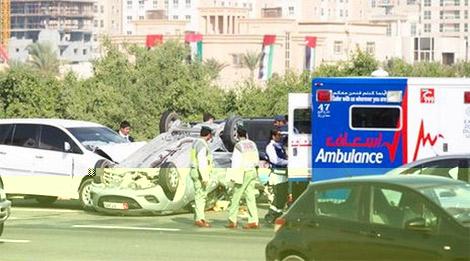 الداخلية: وفاة 63 طفلا نتيجة حوادث الطرق في الدولة العام الماضي