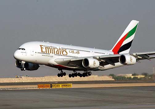 طيران الإمارات رابع أفضل طيران بالعالم والأول في أنظمة الترفيه