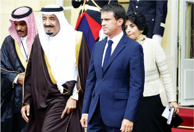 قمة سعودية فرنسية تبحث الملفات الساخنة في المنطقة
