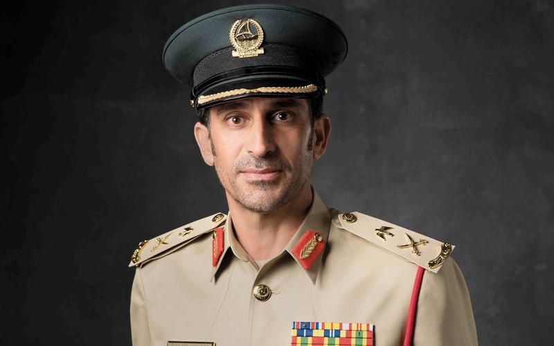 محمد بن راشد يعتمد استراتيجية الهوية المؤسسية لشرطة دبي