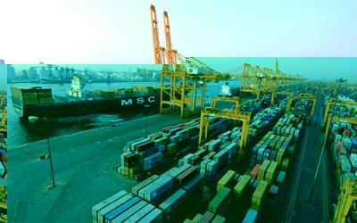 حملة لتنظيف قاع البحر في ميناء الحمرية بدبي