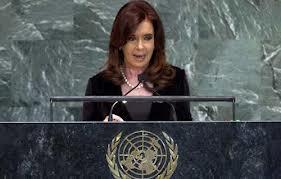 رئيسة الأرجنتين تربك زعماء العالم قبل قطع البث عن كلمتها في نيويورك
