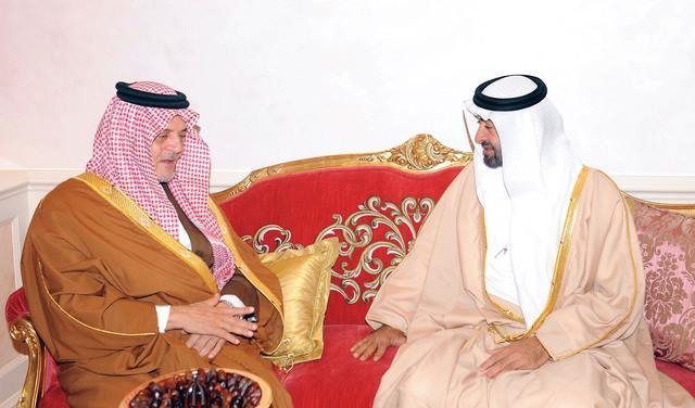 سعود الفيصل يصل أبوظبي