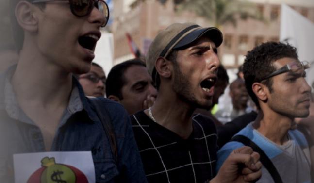 الشباب العربي بين