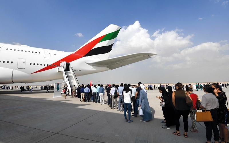 «دبي للطيران 2017» يختتم أكبر دورة في تاريخه بصفقات 418.8 مليار درهم