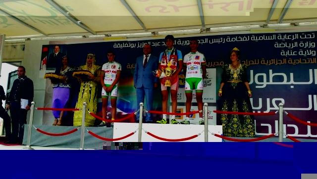 سويدان نجم الإمارات في البطولة العربية للطريق والمضمار للدراجات