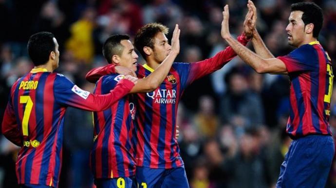 برشلونة يكتسح غرناطة بستة أهداف