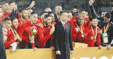 المغرب يتوج بكأس أمم أفريقيا بتغلبة على نظيرة النيجيري برباعية نظيفة