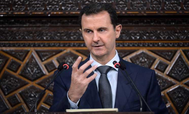 الأسد يتعهد بمواصلة الحرب زاعما أن حلب ستكون مقبرة أردوغان